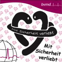 """Logo von """"Mit Sicherheit verliebt"""""""