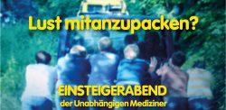Einsteigerabend der Unabhängigen Mediziner am 19.04.2017 um 18 Uhr